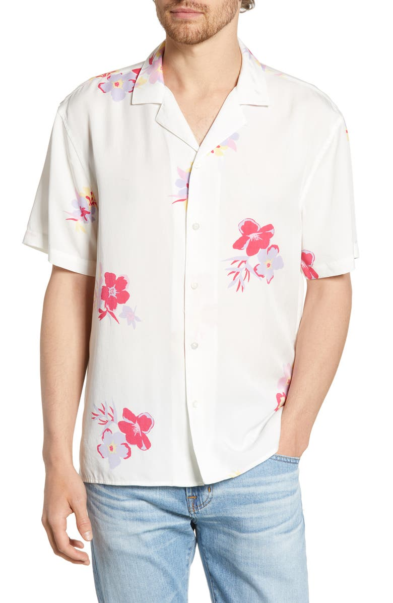 BONOBOS Cabana Slim Fit Shirt, Main, color, OXLEY FLORAL