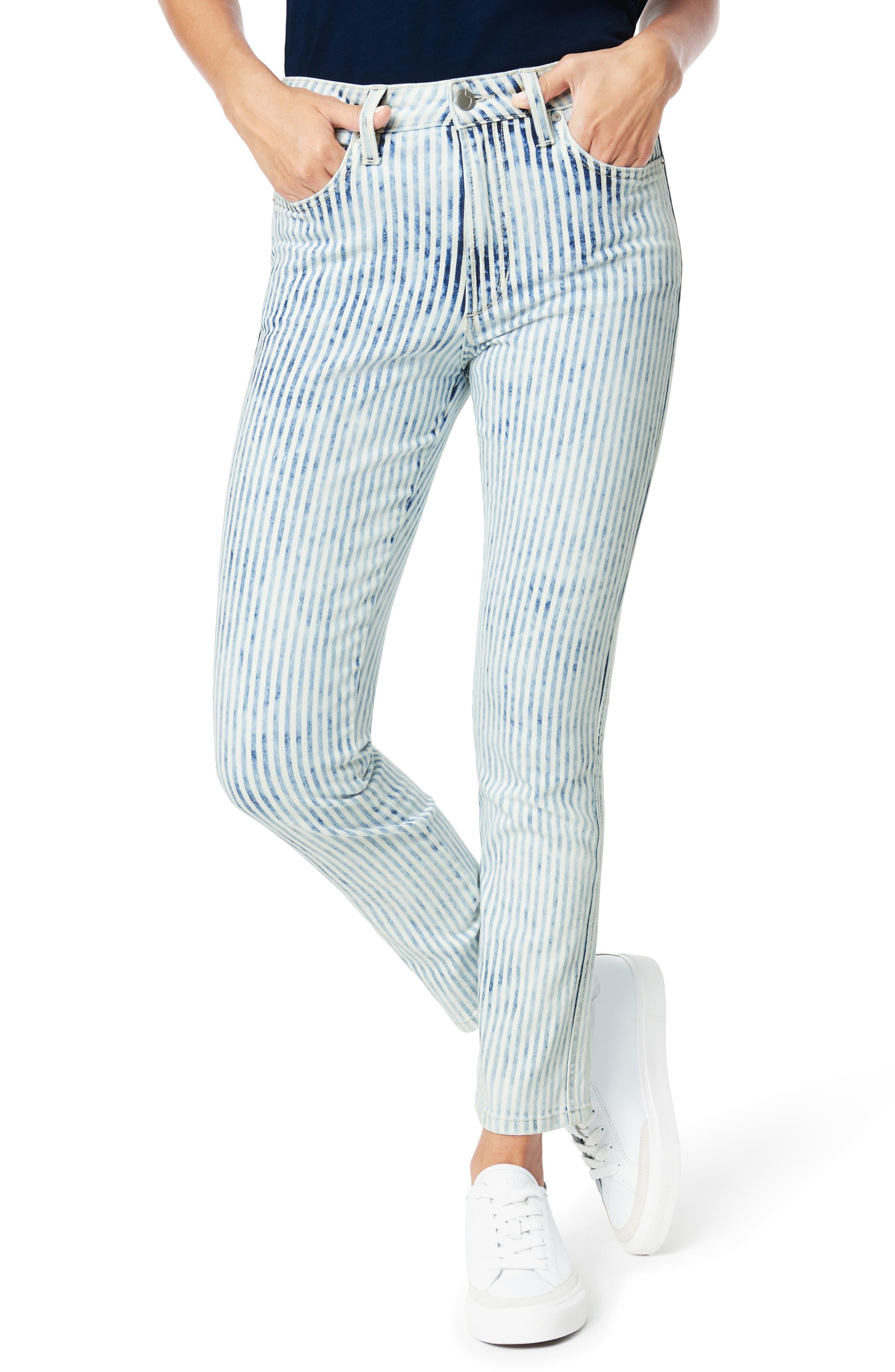 Women's Joe's The Luna High Waist Ankle Cigarette Jeans,  29 - Blue