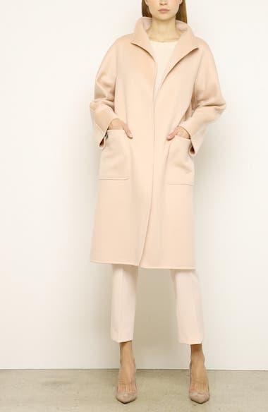 Lilia Double Face Cashmere Car Coat, video thumbnail