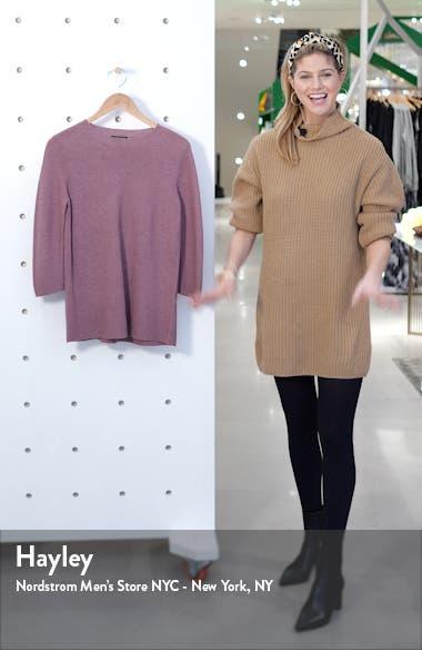 Horizontal Ribbed Crewneck Sweater, sales video thumbnail
