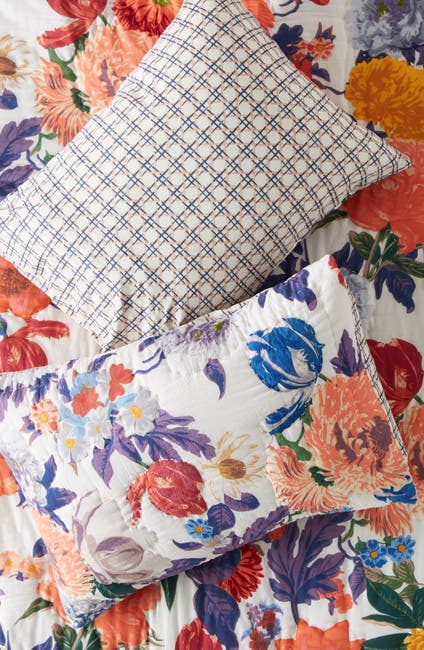 "Image of ANTHROPOLOGIE Agneta Standard Shams - Set of 2 - 20"" x 26"""