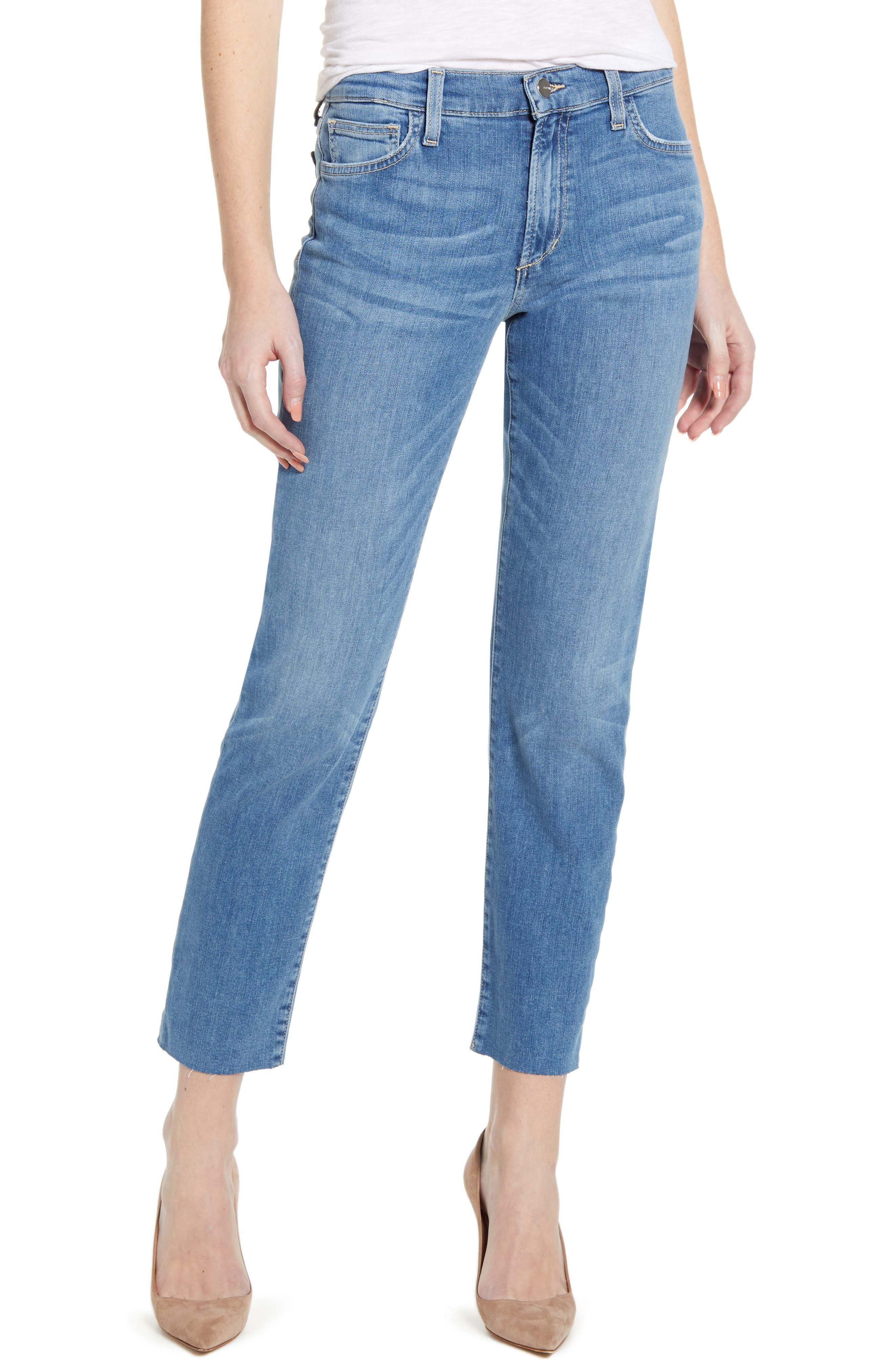 Women's Joe's The Lara Ankle Cigarette Jeans,  31 - Blue