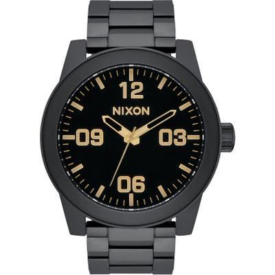 Nixon Corporal Bracelet Watch, 4m