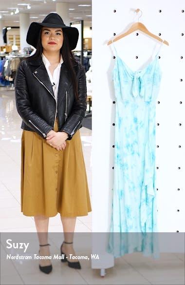 Jade Tie Dye Maxi Dress, sales video thumbnail
