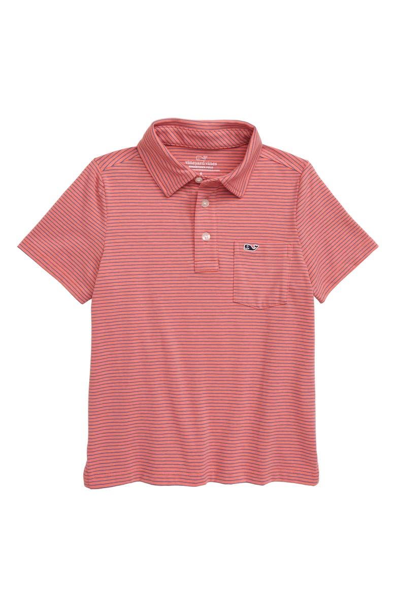 VINEYARD VINES Edgartown Stripe Polo, Main, color, 202