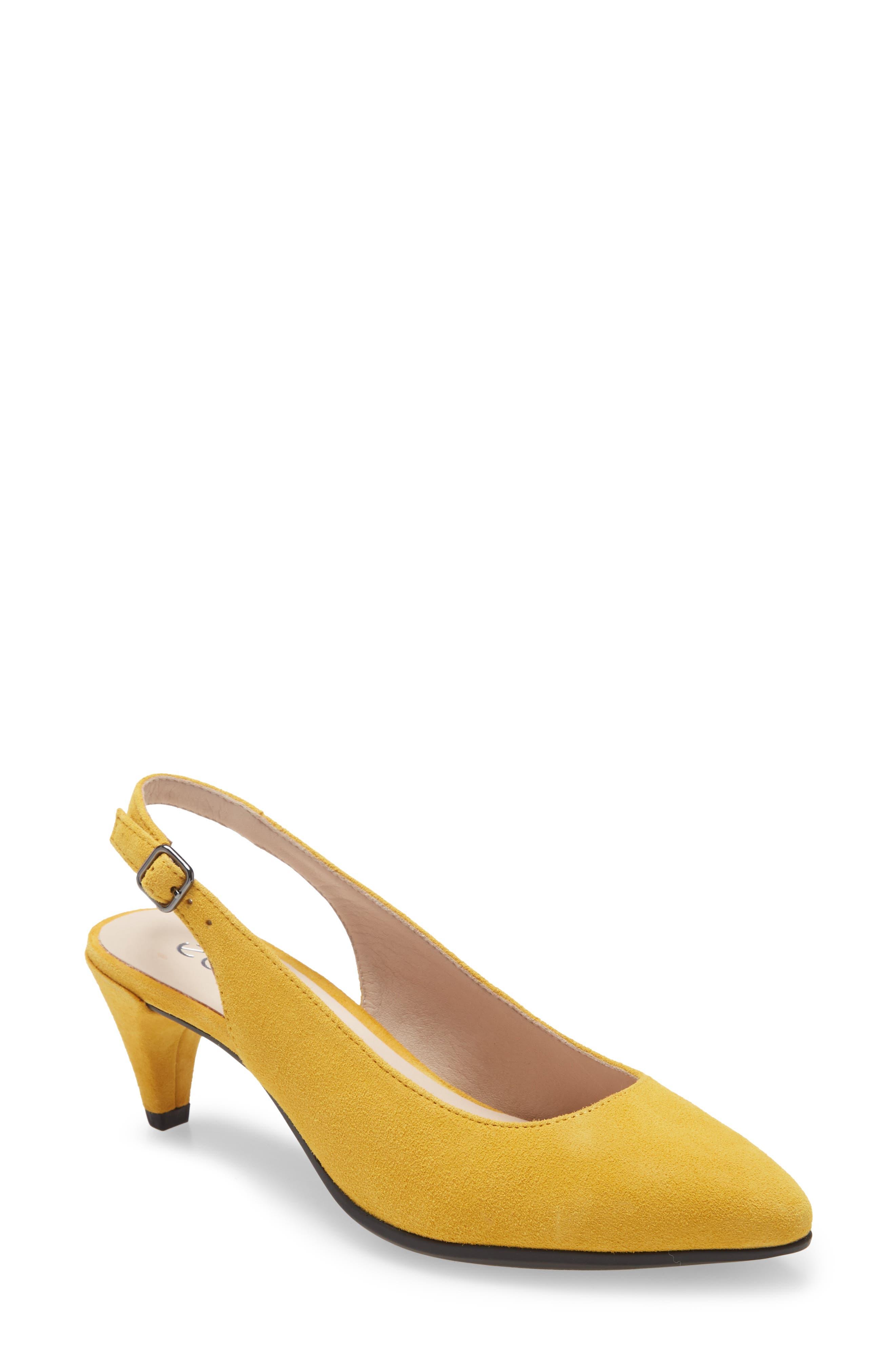 Women's Ecco Shape 45 Pointy Toe Slingback Pump