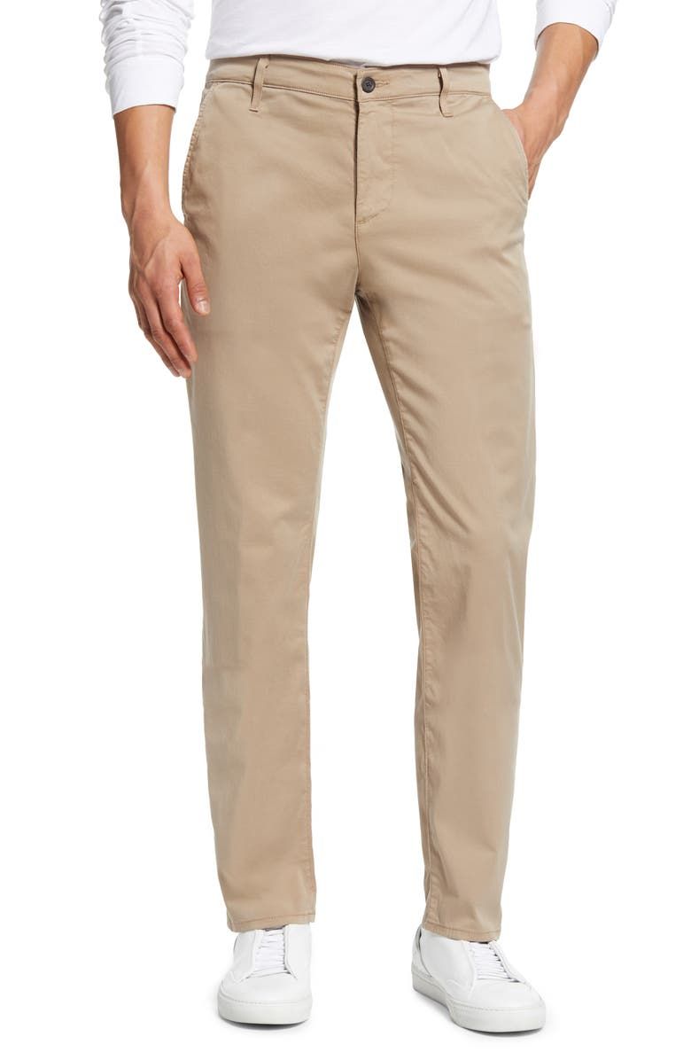 AG Marshall Slim Fit Chinos, Main, color, PARCHED TRAIL