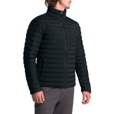 The North Face Packable Slim Fit Stretch Down Jacket, Black