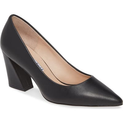 Charles David Arsenal Pointed Toe Pump- Black