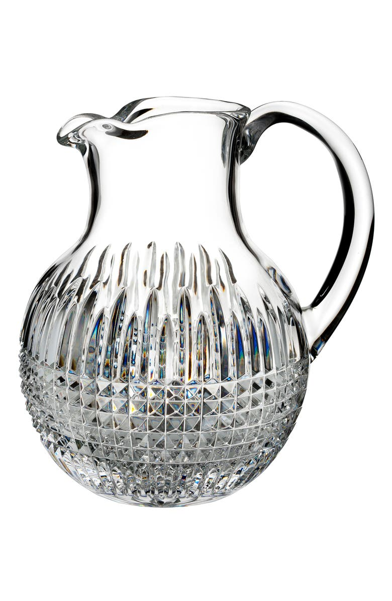 WATERFORD Lismore Diamond Encore Lead Crystal Pitcher, Main, color, 100