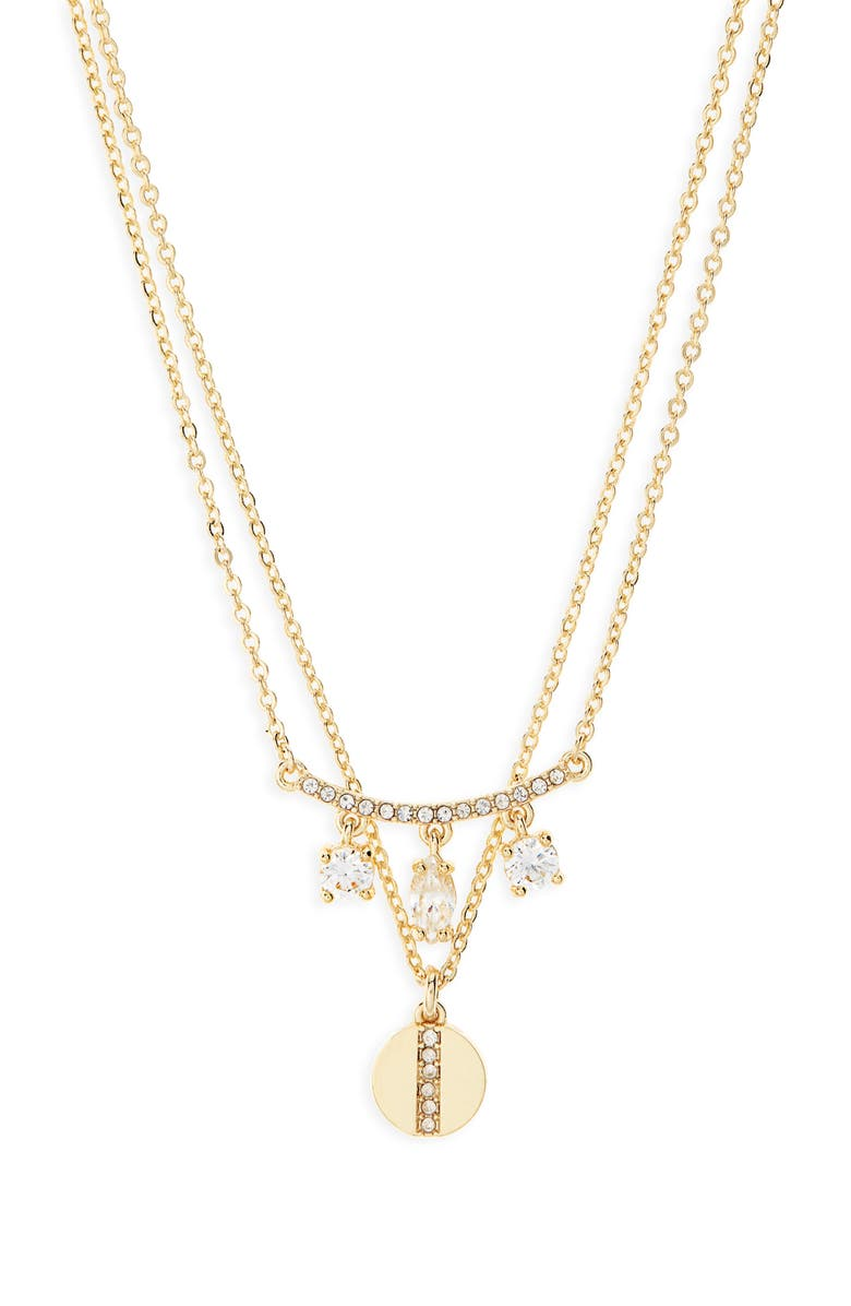 NORDSTROM Layered Pendant Necklace, Main, color, 710