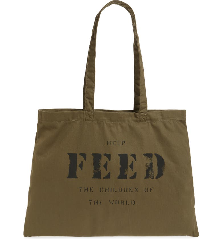 FEED 10 Tote, Main, color, NEW ARMY GREEN