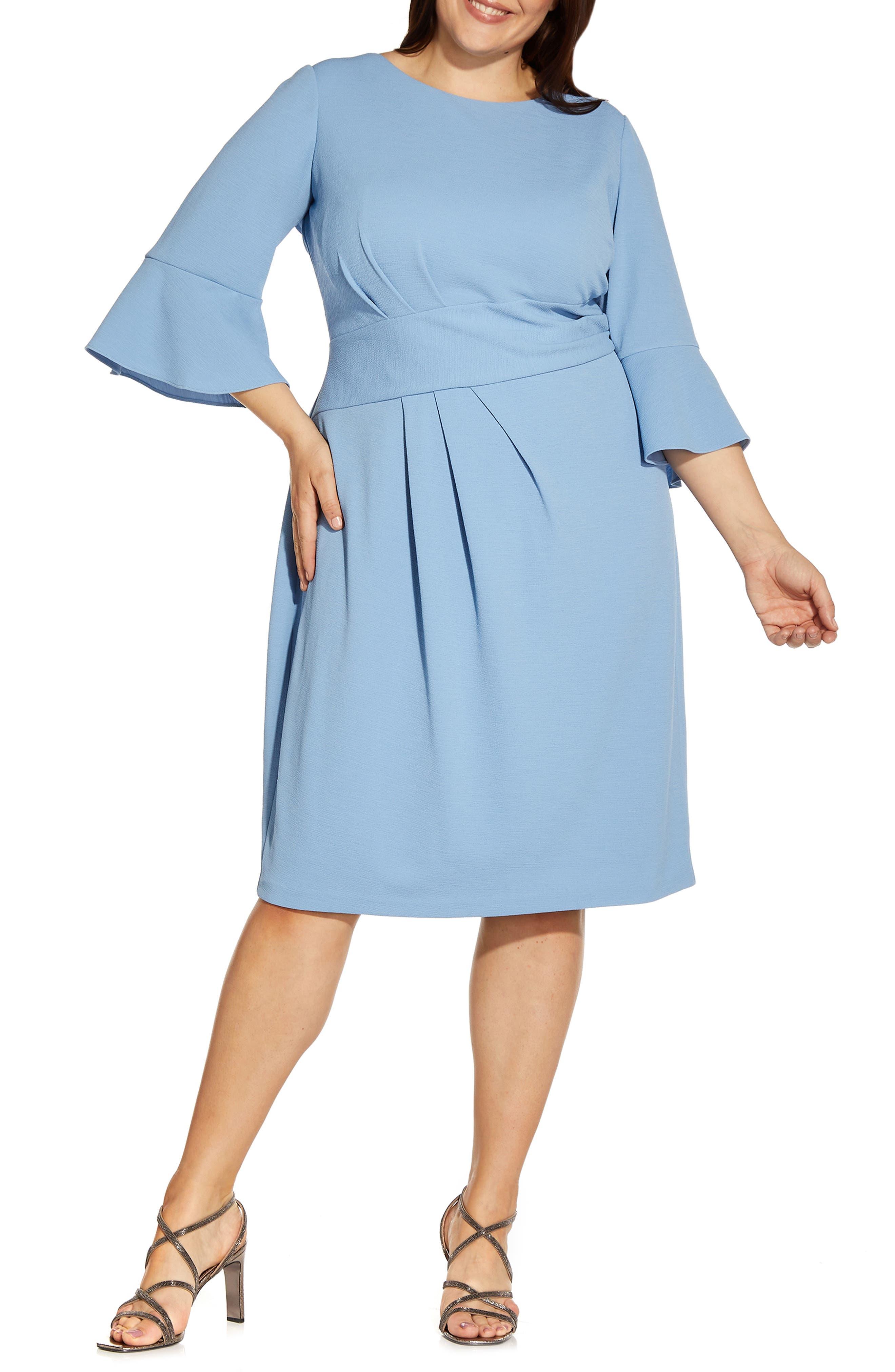 Rio Ruched Knit Sheath Dress