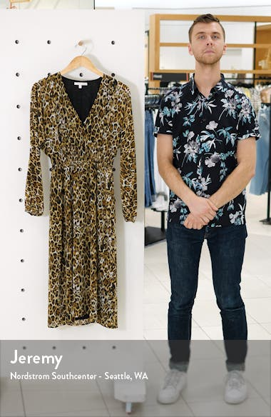 Gabrielle Leopard Print Dress, sales video thumbnail