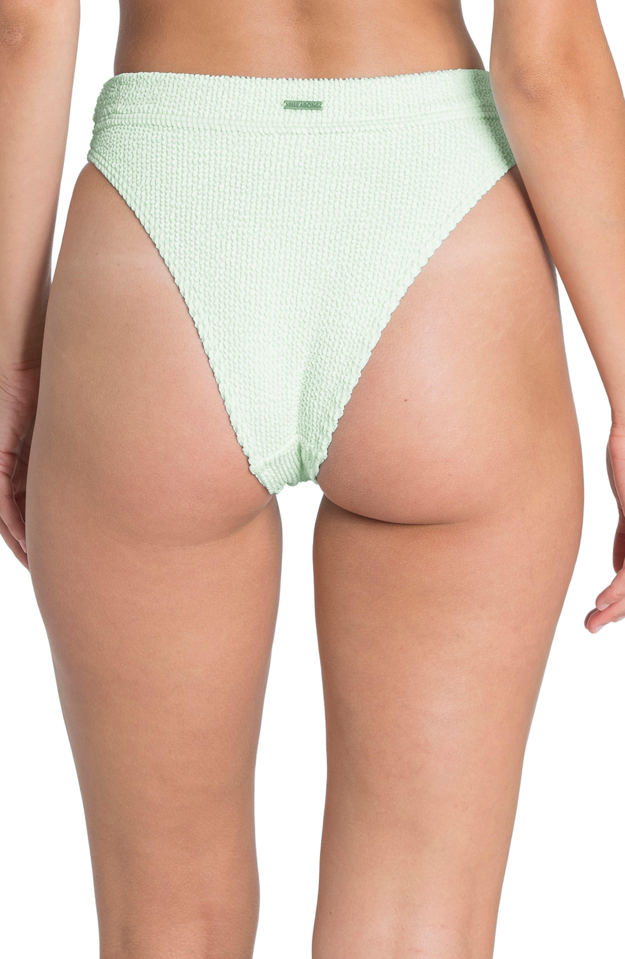 ,                             Summer High Maui Ribbed Bikini Bottoms,                             Alternate thumbnail 2, color,                             SEASPRAY