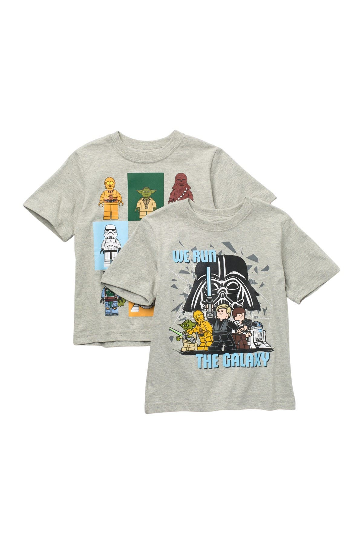 Image of Isaac Morris Lego Star Wars T-Shirt - Pack of 2