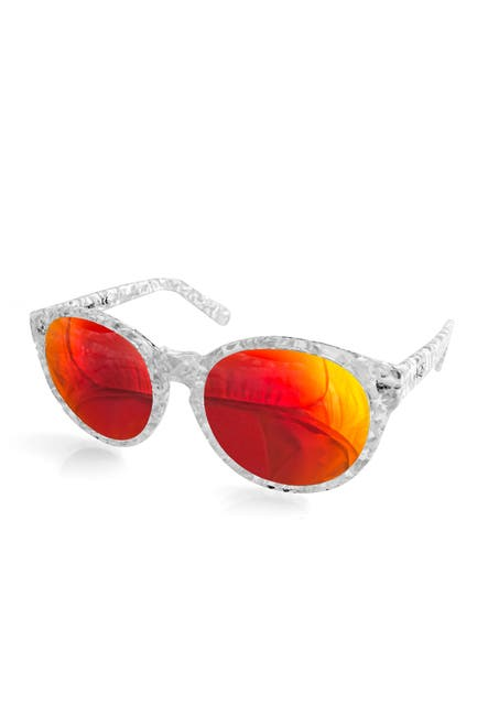 Image of AQS Daisy 53mm Rounded Sunglasses