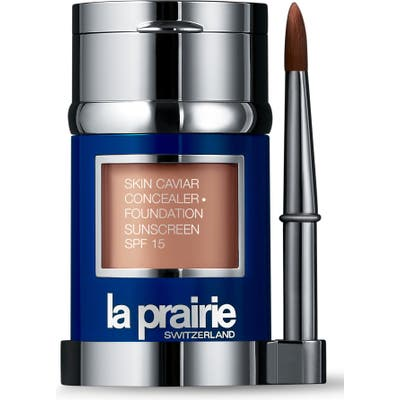 La Prairie Skin Caviar Concealer + Foundation Sunscreen Spf 15 - Pure Ivory