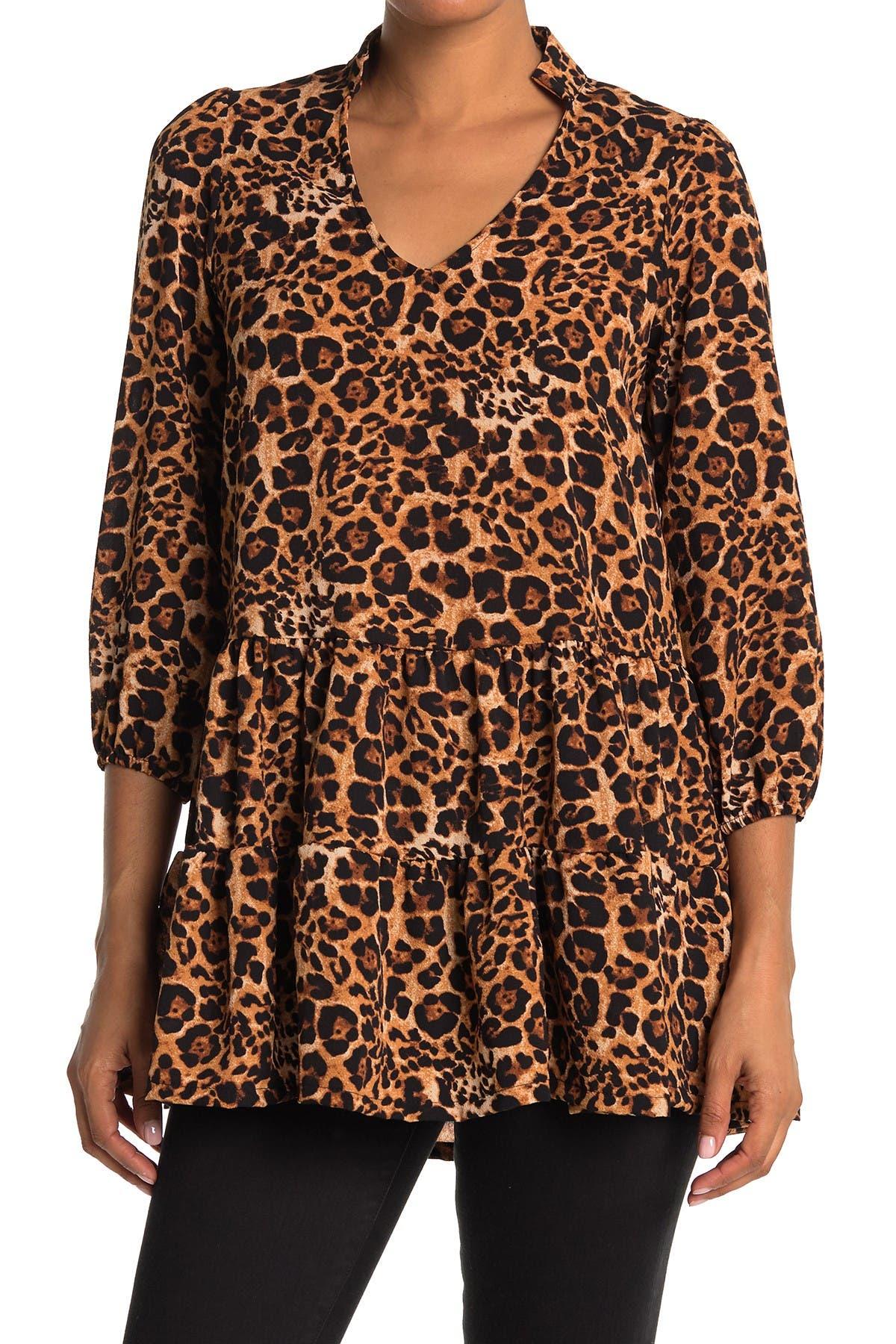 Image of Velvet Torch Tiered Shirt Dress