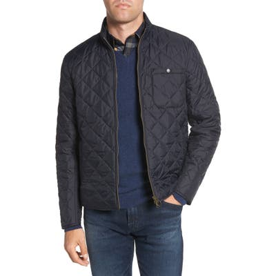 Barbour Pod Regular Fit Quilted Jacket, Blue