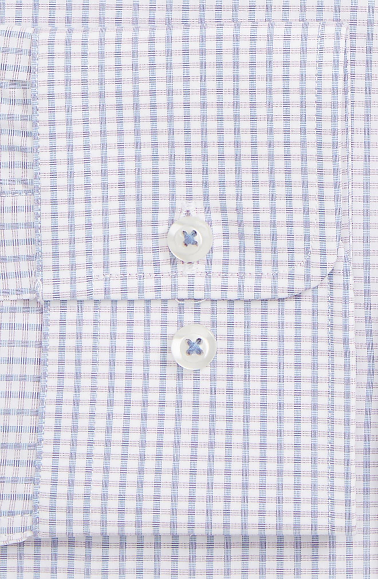 ,                             Slim Fit Gingham Dress Shirt,                             Alternate thumbnail 2, color,                             PURPLE