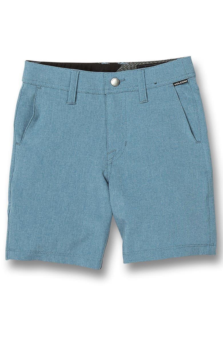 VOLCOM Frickin Surf N' Turf Static Hybrid Shorts, Main, color, BLUE RINSE