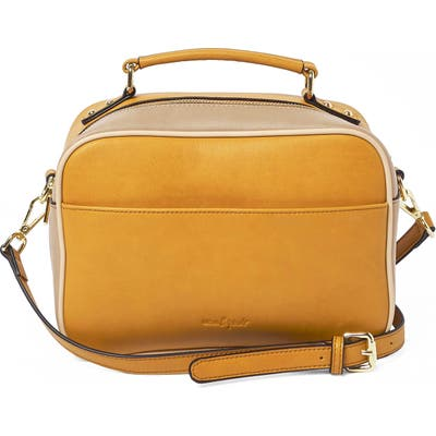 Urban Originals Love Bird Faux Leather Satchel - Yellow