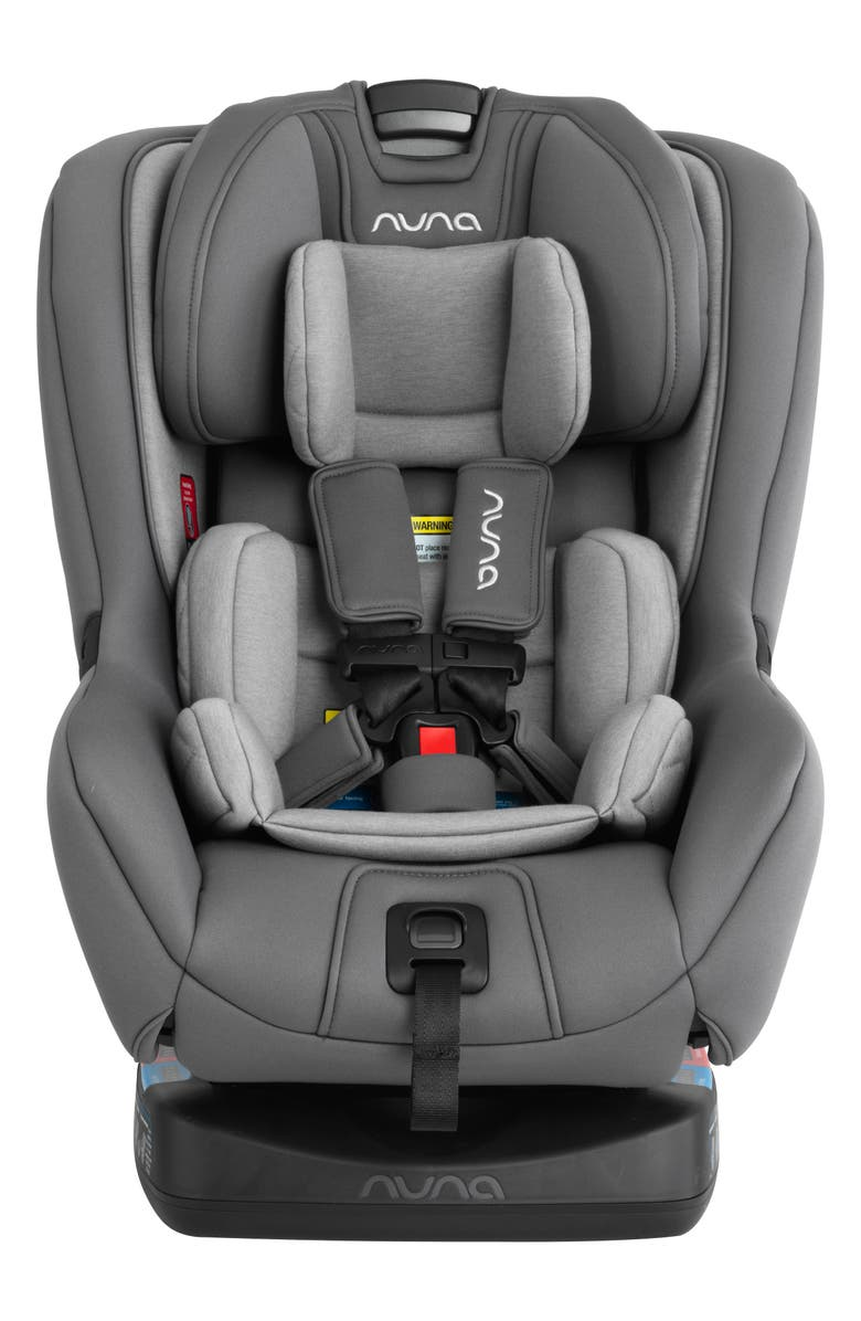 NUNA RAVA<sup>™</sup> Flame Retardant Free Convertible Car Seat, Main, color, THREADED - NORDSTROM EXCLUSIVE