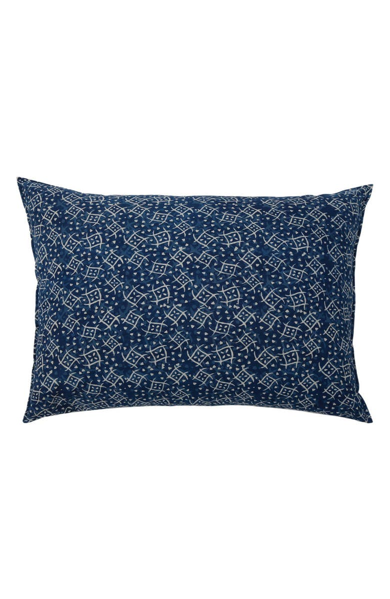 POM POM AT HOME Neela Big Accent Pillow, Main, color, BLUE