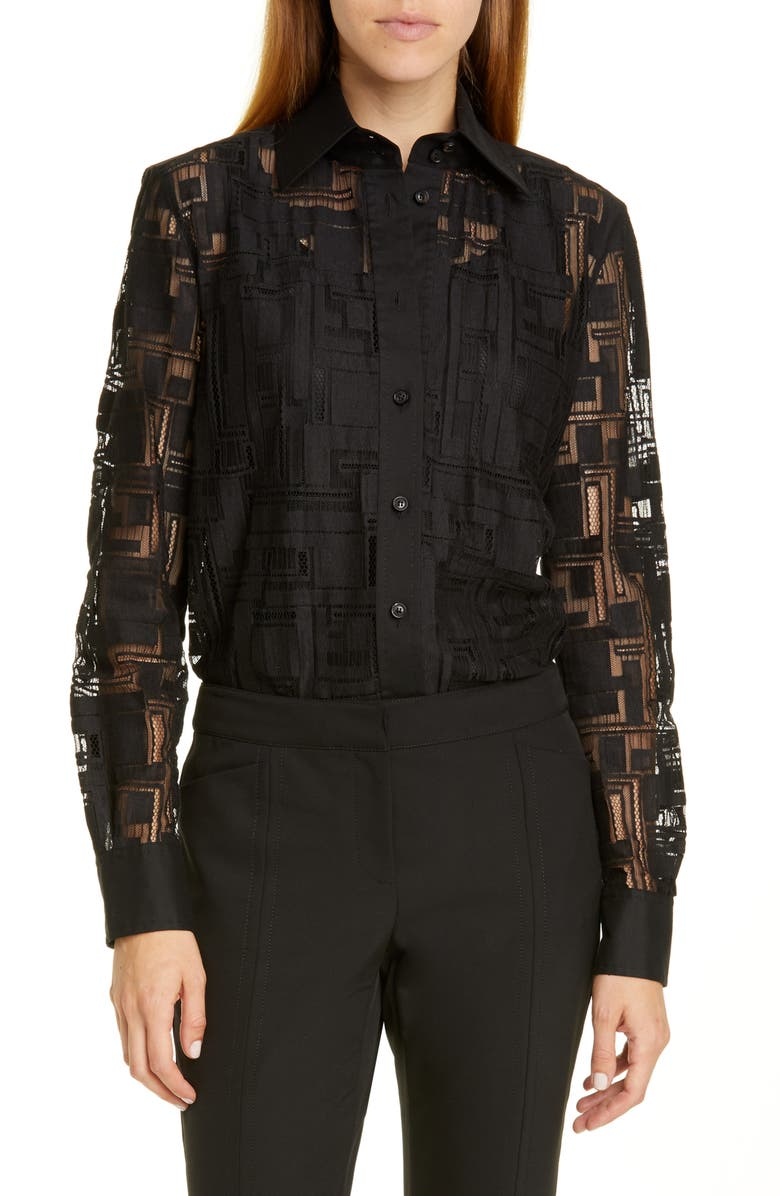 James Lace Blouse by Lafayette 148 New York