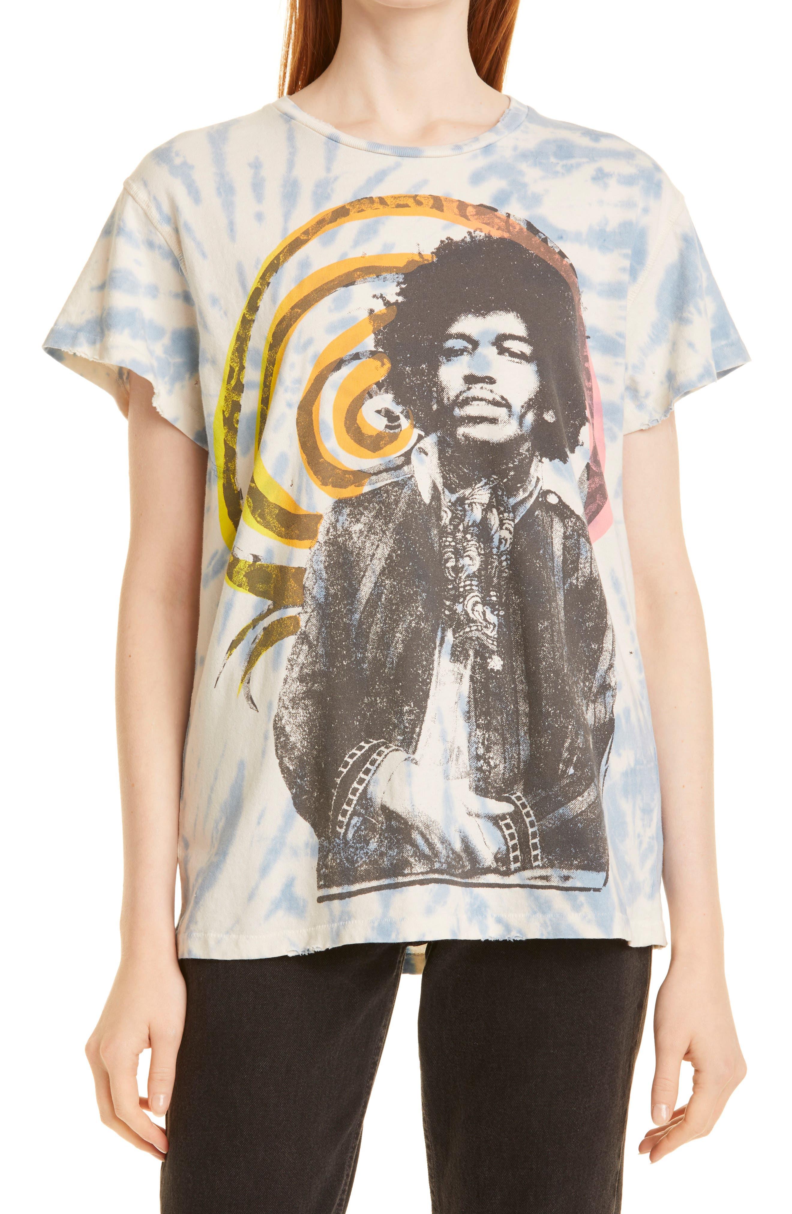 Unisex Jimi Hendrix Voodoo Graphic Tee