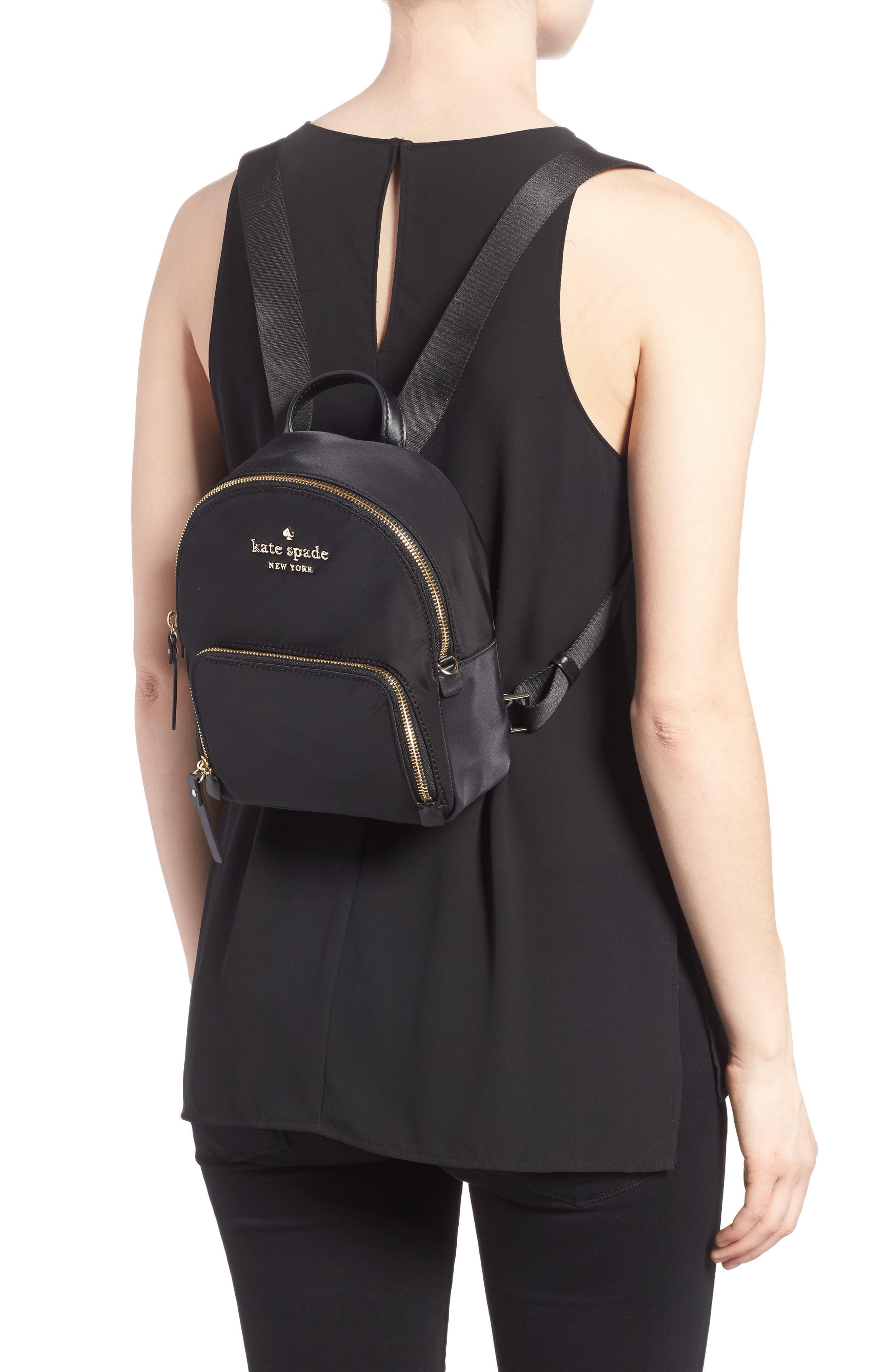 ,                             watson lane - small hartley nylon backpack,                             Alternate thumbnail 2, color,                             BLACK