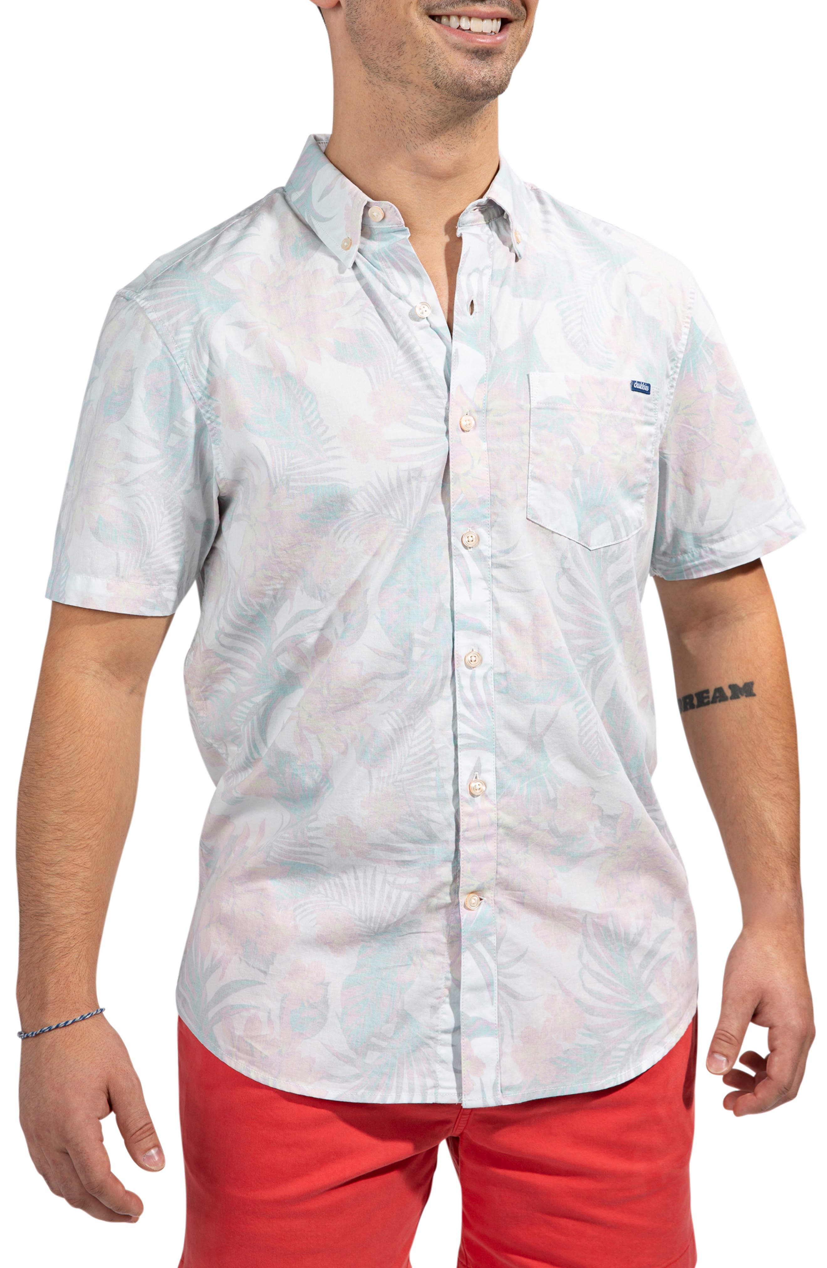 The Flordom Floral Short Sleeve Button-Down Shirt