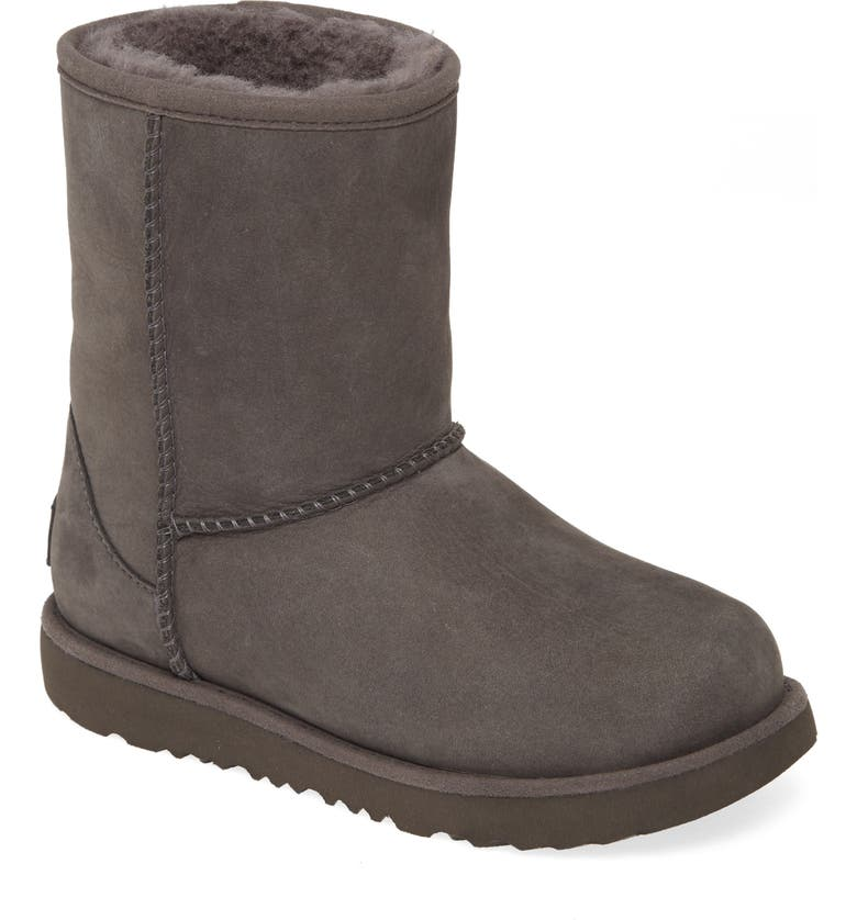 UGG<SUP>®</SUP> Classic Short II Waterproof Boot, Main, color, GREY