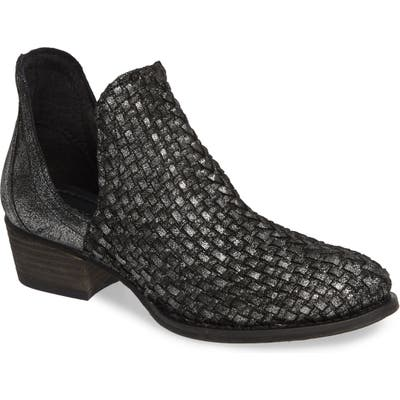 Very Volatile Bayview Woven Bootie, Grey