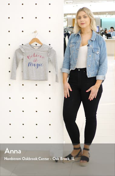 Believe in Magic Graphic Long Sleeve Tee, sales video thumbnail
