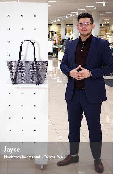 Holston East West Leather Tote, sales video thumbnail