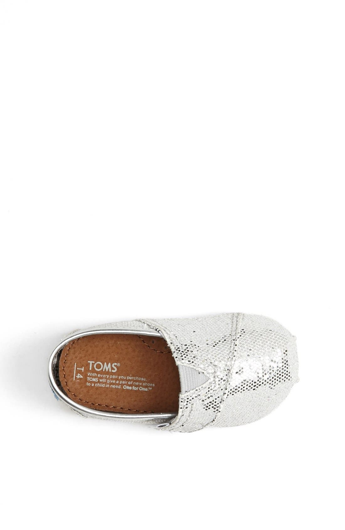 ,                             'Classic Tiny - Glitter' Slip-On,                             Alternate thumbnail 9, color,                             040
