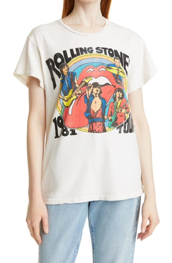 Madeworn UNISEX THE ROLLING STONES 1981 TOUR GRAPHIC TEE