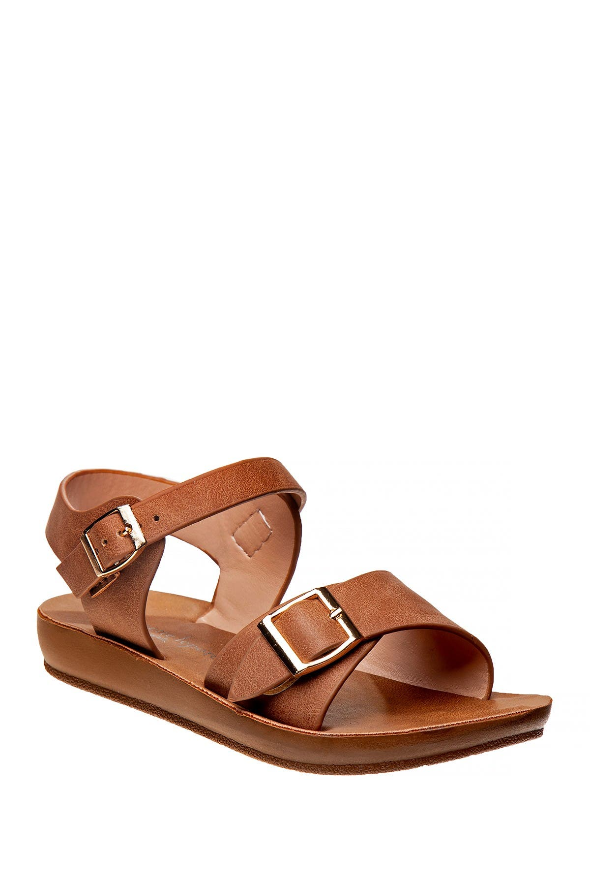 Image of Nanette Lepore Double Buckle Sandal