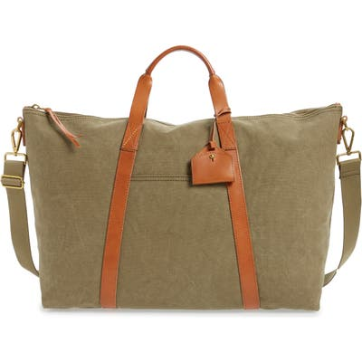 Madewell Canvas Weekend Bag - Green