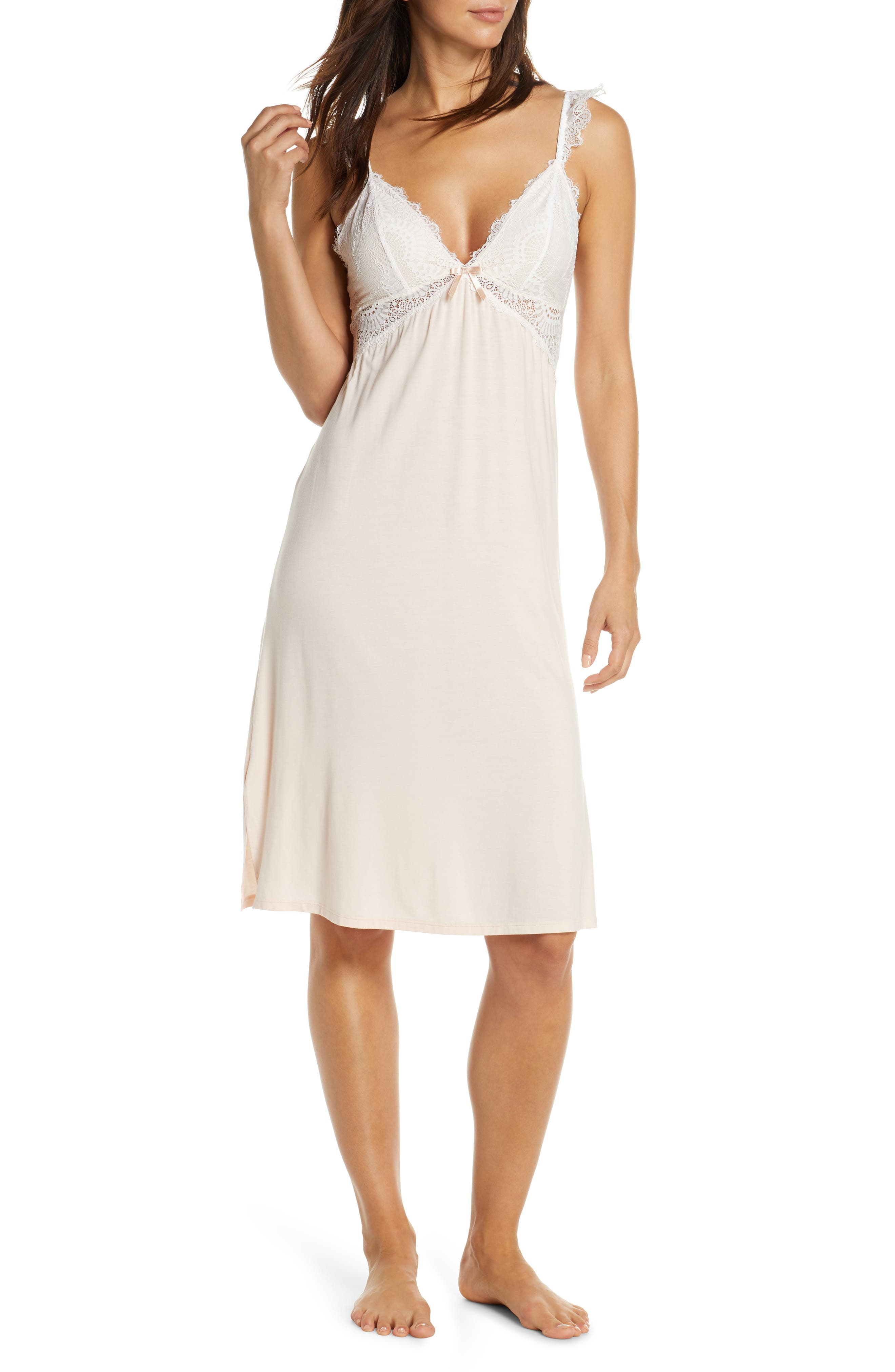 Homebodii Petra Nightgown, Pink