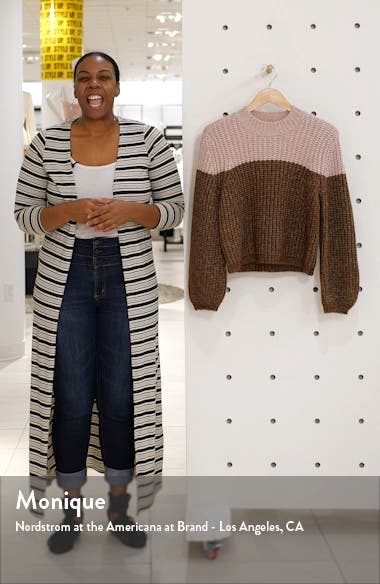 Two-Tone Sweater, sales video thumbnail