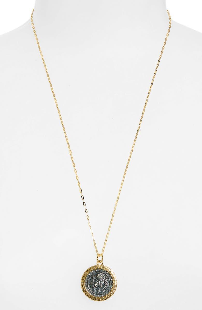 Lioness Pendant Necklace by Argento Vivo