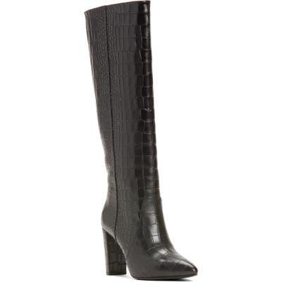 Paige Carmen Knee High Boot- Black