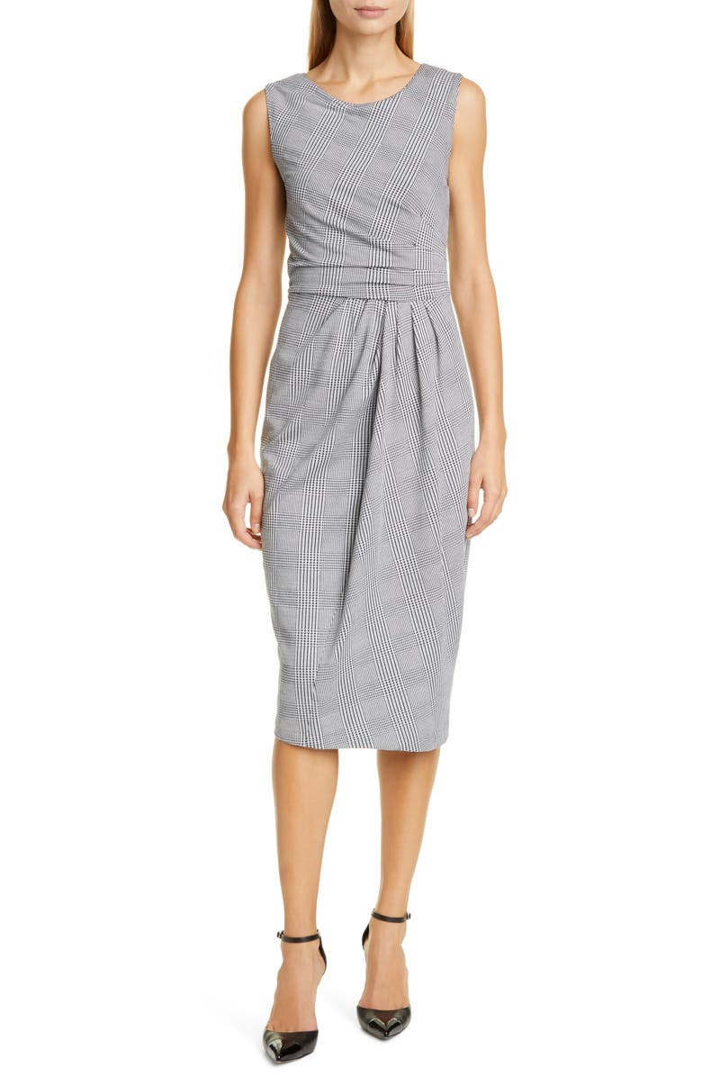 MAX MARA Venezia Sleeveless Sheath Dress, Main, color, ULTRAMARINE