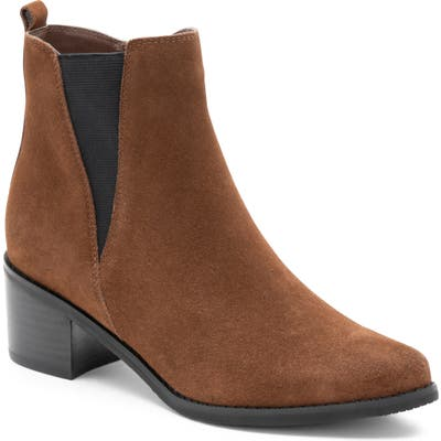 Blondo Eloise Waterproof Bootie- Brown