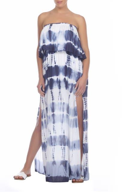 Image of BOHO ME Strapless Maxi Dress