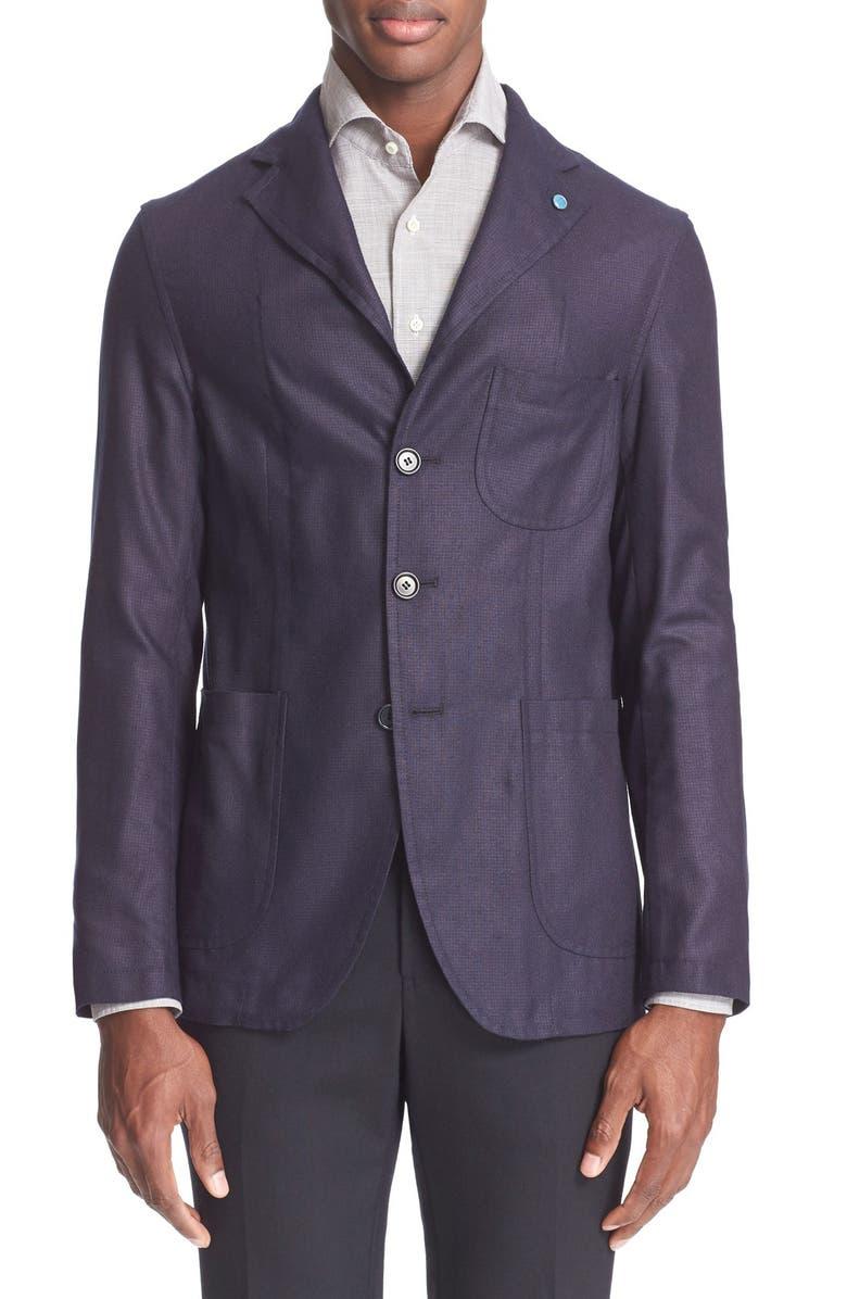 EIDOS Napoli Silk Sport Coat, Main, color, 400