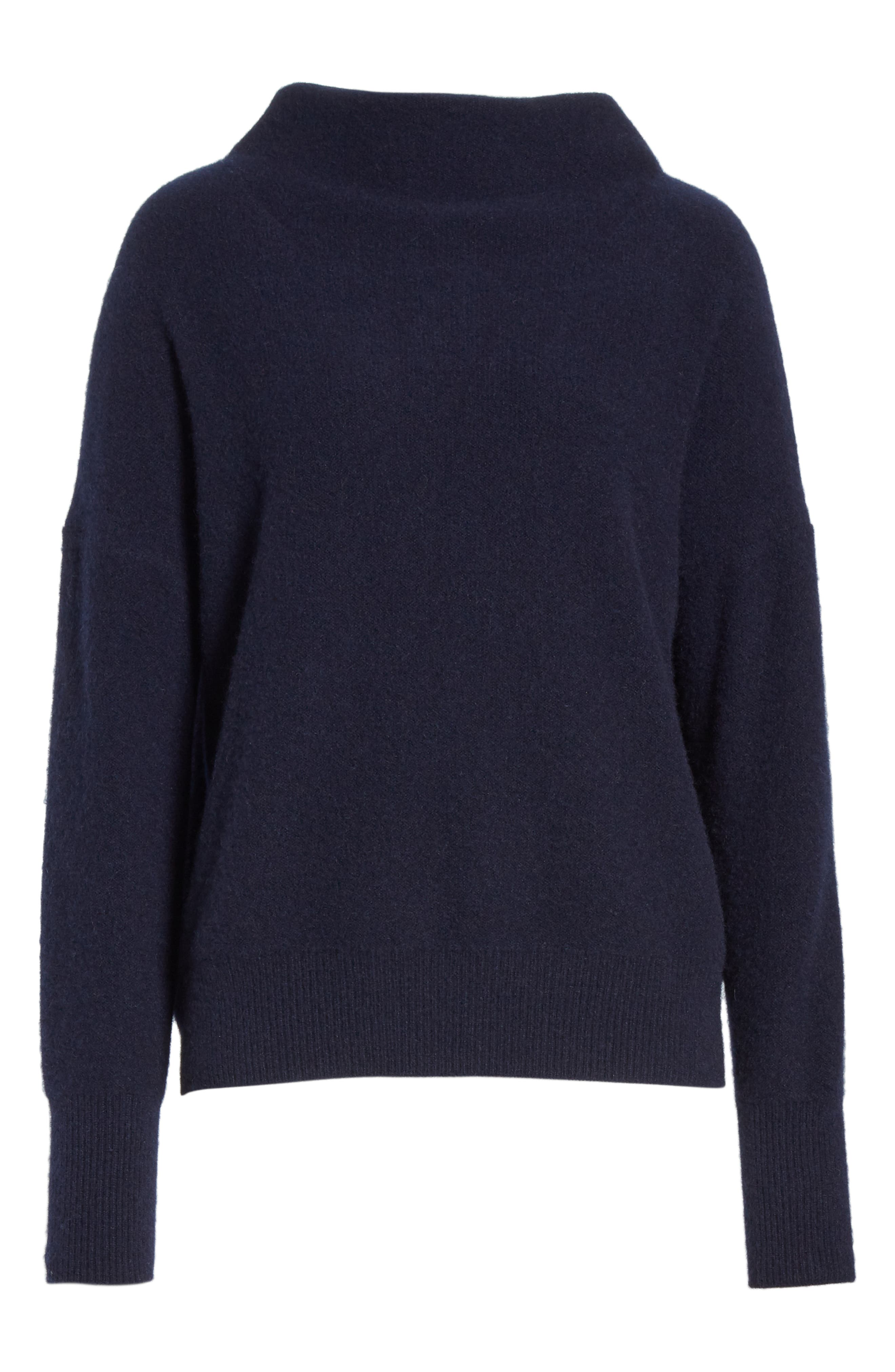 ,                             Funnel Neck Cashmere Sweater,                             Alternate thumbnail 13, color,                             403